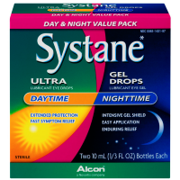 Systane Day & Night Lubricant Eye Drops & Gel 2 ea [300651431872]