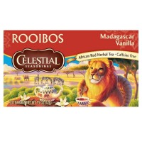 Celestial Seasonings Rooibos Tea,  Madagascar Vanilla 20 ea [070734070761]