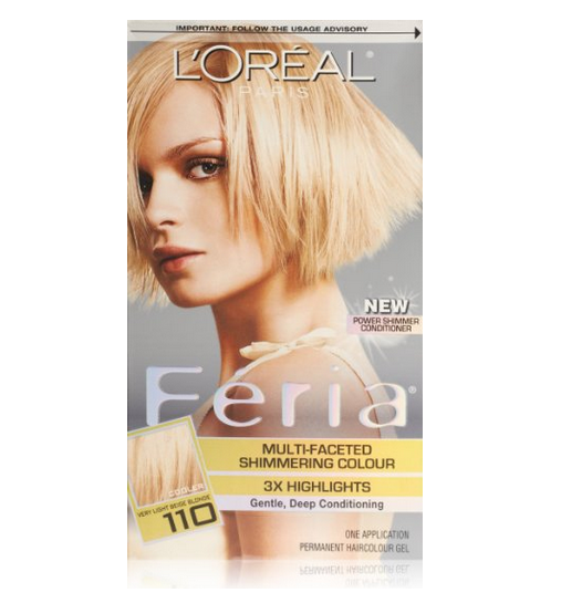 L'Oreal Paris Feria Multi-Faceted Shimmering Color, Very Light ...