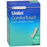 Unilet Comfor ouch Ultra Thin Lancets 100 ea [384700925017]