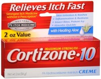 Cortizone-10 Maximum Strength Anti-Itch Creme with Aloe 2 oz [041167003961]