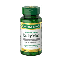 Nature's Bounty Daily Multi, Adults 50+, 80 ea [074312766763]