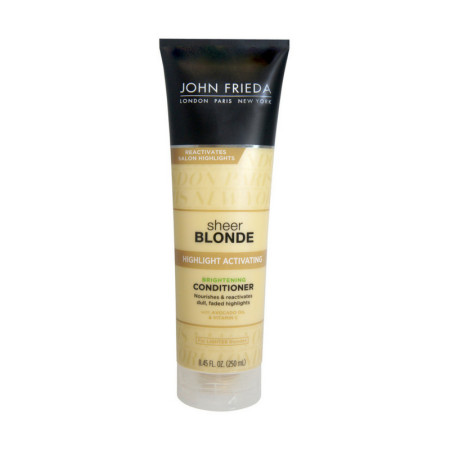 John Frieda sheer blonde Highlight Activating Brightening Conditioner For Lighter Blondes 8.45 oz [717226505133]
