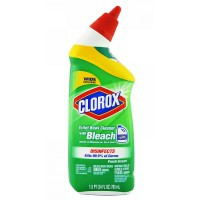 Clorox Toilet Bowl Cleaner with Bleach, Fresh Scent 24 oz [044600009339]