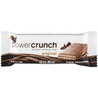 Power Crunch  Protein Energy Bar, 1.4 oz Bars, Triple Chocolate 12 ea [644225727832]