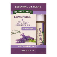 Nature's Truth Essential Oil Roll-On Blend, Lavender 0.33 oz [840093104533]