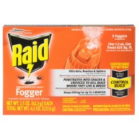 Raid Deep Reach Concentrated Fogger 3 Each [046500815904]