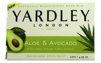 Yardley London Moisturizing Bar Fresh Aloe With Avocado Essence 4.25 oz [041840101106]