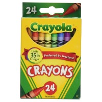 Crayola Classic Color Pack Crayons, 24 ea [071662000240]