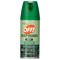 OFF! Deep Woods Dry Insect Repellent Spray 2.5 oz [046500731754]
