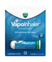 Vicks VapoInhaler, Non-Medicated, Menthol Vapor .007 oz [037000973324]