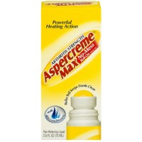 ASPERCREME Max Arthritis Strength No-Mess Roll-On Pain Relieving Liquid 2.50 oz [041167057506]