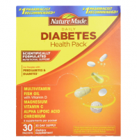 Nature Made Daily Diabetes Health Pack 30 Each [031604010201]