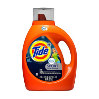Tide Sport Febreze Active Fresh Scent High Efficiency Liquid Laundry Detergent, 69 oz [037000875161]
