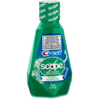 Crest Scope Classic Mouthwash 1.2 oz [037000956587]