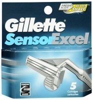 Gillette Sensor Excel Cartridges 5 Each [047400115446]