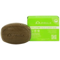 Olivella Exfoliating Face & Body Bar Soap 5.29 oz [764412250117]