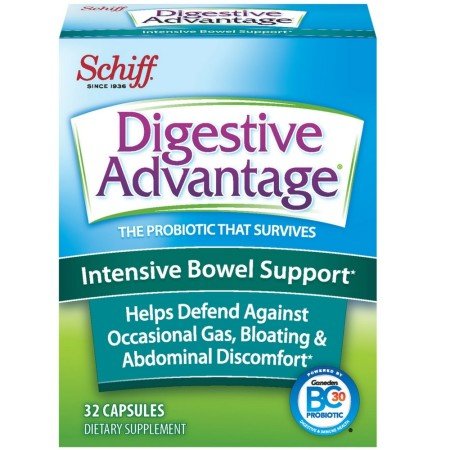 Digestive Advantage Intensive Bowel Support Probiotic Capsules, 32 ct [815066001164]