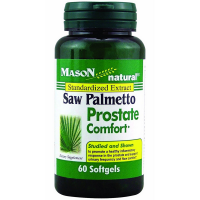 Mason Naturals Saw Palmetto Prostate Comfort Softgels 60 ea [311845129055]