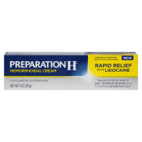 Preparation H Hemorrhoid Rapid Relief Cream with Lidocaine 1 oz [305732842103]