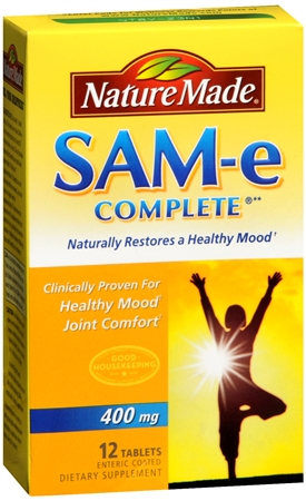 Nature Made MoodPlus SAM-e 400 mg Tablets 12 Tablets [031604011000]