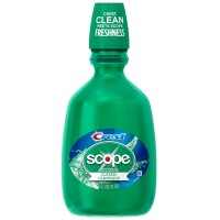 Crest Plus Scope Classic Mouthwash, Original Formula 50.70 oz [037000956631]