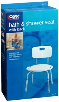 Carex Bath & Shower With Back Seat B651-00 1 Each [023601026514]