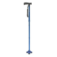 Hurrycane  Freedom Edition Folding Cane with T Handle, Trailblazer Blue 1 ea [822383571041]