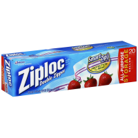 Ziploc Double Zipper Gallon Storage Bags 20 ea [025700003502]