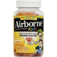 Airborne Kids Gummies Vitamin 667mg Immune Support Supplement, Assorted Fruit Flavors, 42 ct [647865185765]