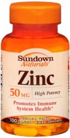 Sundown Zinc 50 mg Caplets 100 Caplets [030768006914]