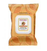 Burt's Bees Facial Cleansing Towelettes, Peach & Willow Bark 25 ea [792850018167]