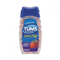 TUMS E-X 750 Tablets Assorted Berries 96 Tablets [307667388961]