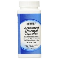 Requa Activated Charcoal Capsules 100 ea [889411431203]
