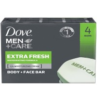 Dove Men + Care Body & Face Bar, Extra Fresh 4 ea [011111012172]