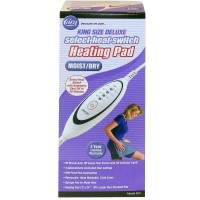 Cara Heating Pad Slide Switch Moist/Dry King Size Deluxe 1 ea [038056000538]
