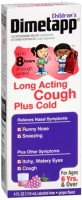 Dimetapp Children's Long Acting Cough Plus Cold Fruit Punch 4 oz [300312238130]