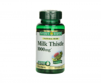 Nature's Bounty Milk Thistle 1000mg Softgels 50 ea [074312019470]