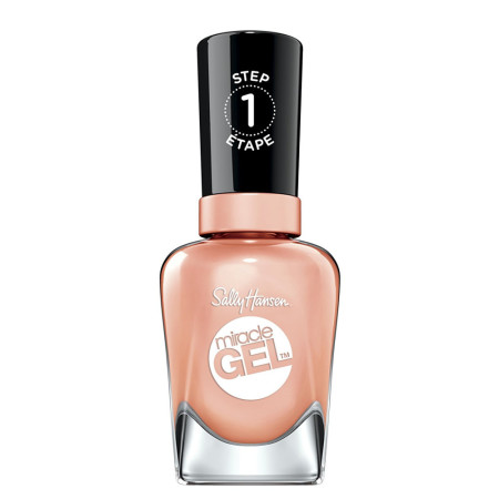 Sally Hansen Miracle Gel Nail Polish, Sweet Tea 0.5 oz [074170446968]