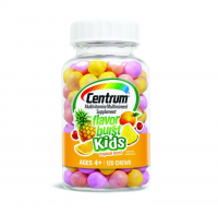 Centrum Kids Flavor Burst Multivitamin Chews, Tropical Burst 120 ea [300054906922]