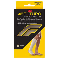 FUTURO Therapeutic Knee Length Stocking Open Toe/Heel Firm Medium Beige 1 Each [051131215870]