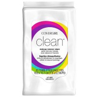 CoverGirl Clean Make-Up Remover Wipes 25 ea [022700471546]