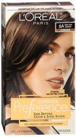 L'Oreal Superior Preference - 6A Light Ash Brown (Cooler) 1 Each [071249253113]