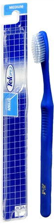 Tek Pro Toothbrush Medium Angled 1 Each [078300000228]