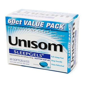 Unisom SleepGels 60 Caps [041167006160]