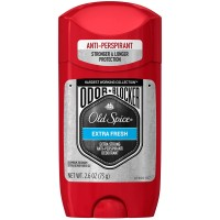 Old Spice Hardest Working Collection Odor Blocker Anti-Perspirant & Deodorant, Extra Fresh 2.60 oz [037000944676]