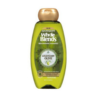 Garnier Whole Blends Replenishing Shampoo, Legendary Olive 22 oz [603084494569]