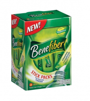 Benefiber Fiber Sugar-Free On the Go Stick Packs, Unflavored, 28 ea [886790162803]