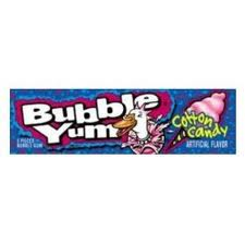 Bubble Yum  Gum Cotton Candy 18 pack (5 ct per pack) [989803474508]