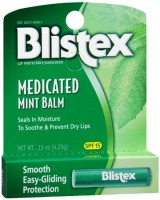 Blistex Medicated Mint Balm SPF 15 0.15 oz [041388220314]